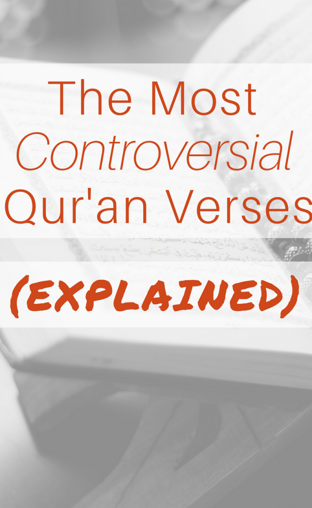 the most controversial quran verses explained